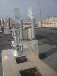 montaż kominów