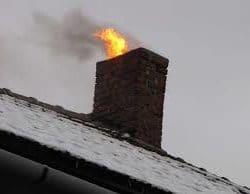plamy na kominie